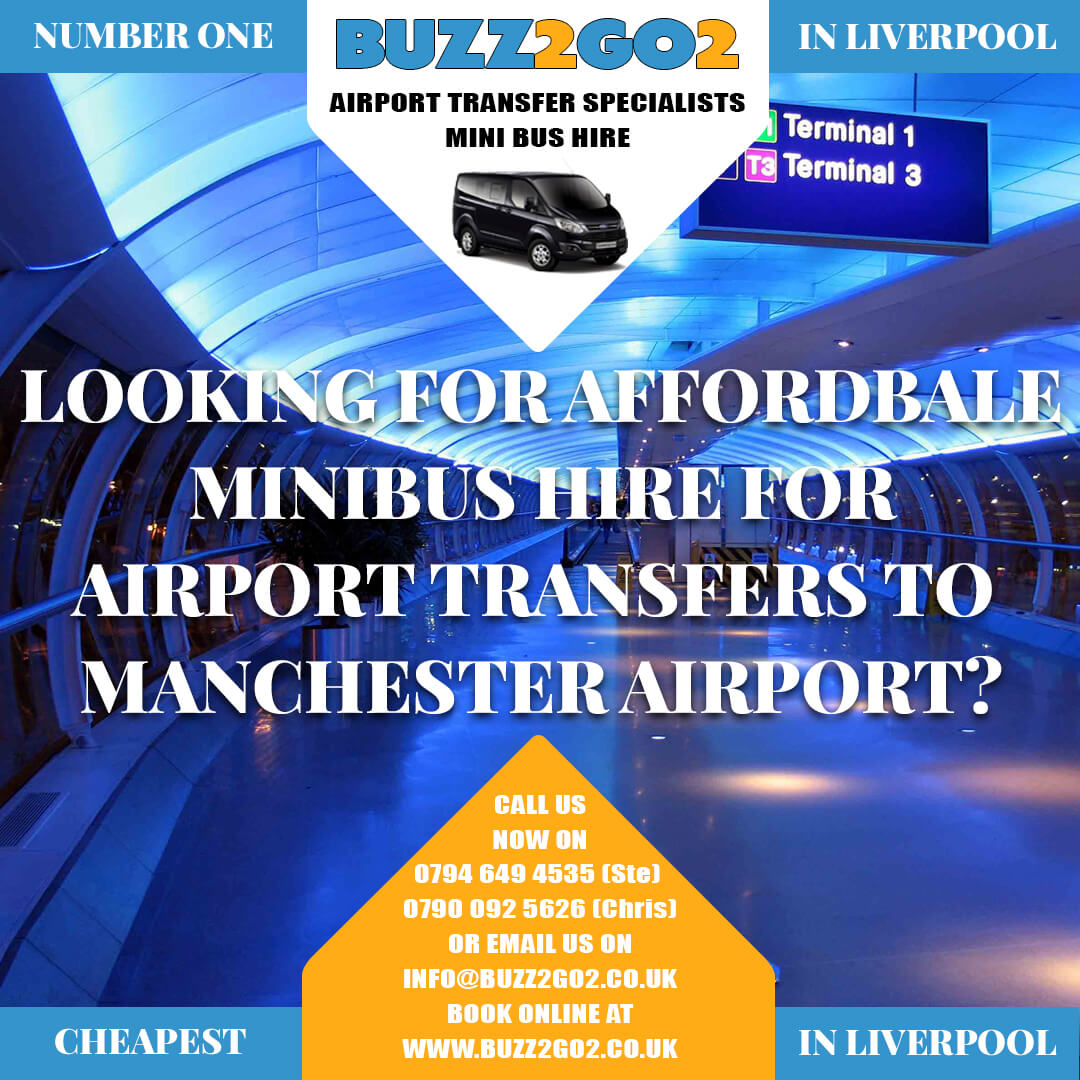 Minibs Hire To Liverpool Airport Advert